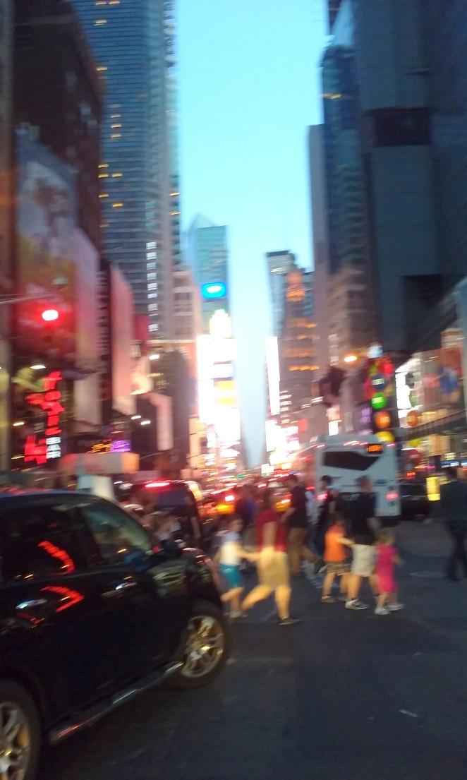 Saturday Night in New York at Broadway