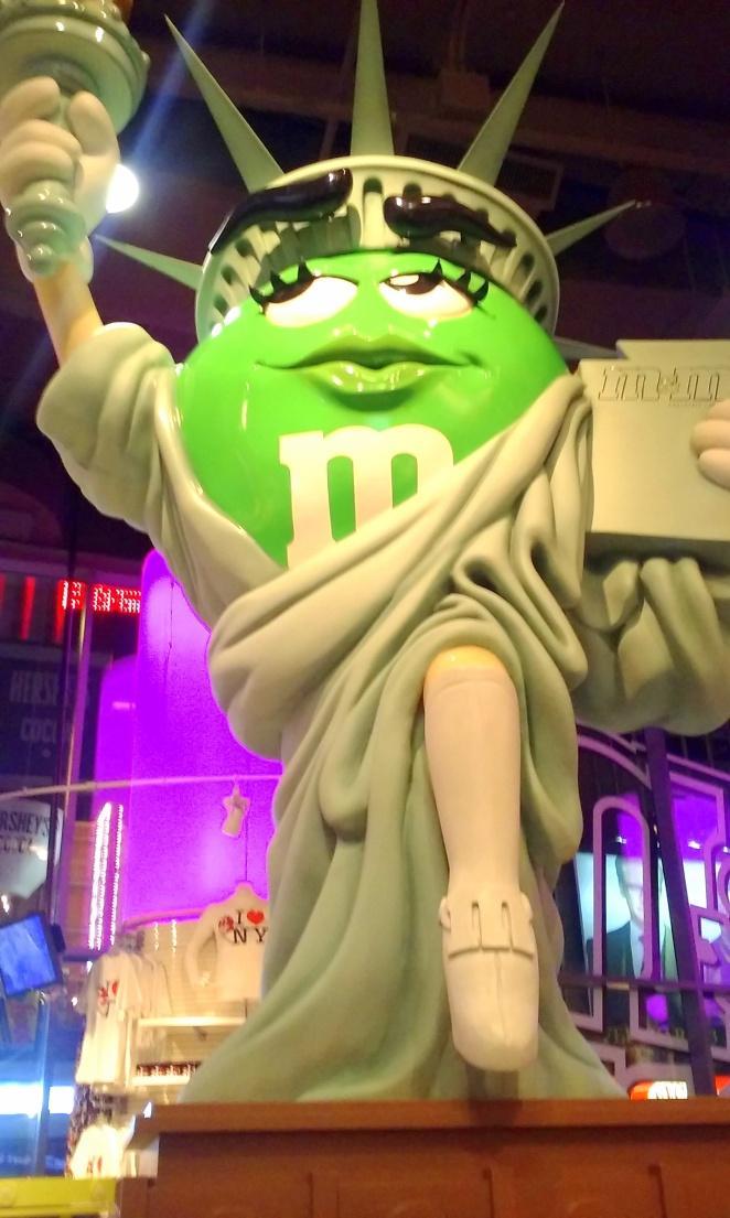 M&m's shop Time Square
