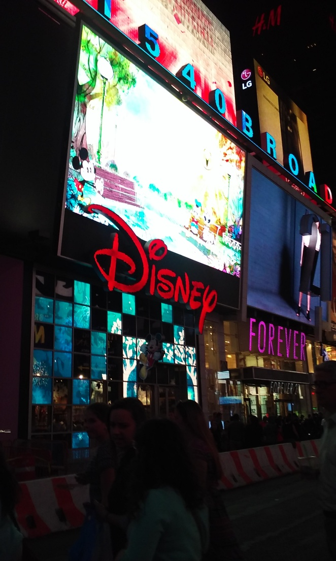 New York Time Square Disney Store