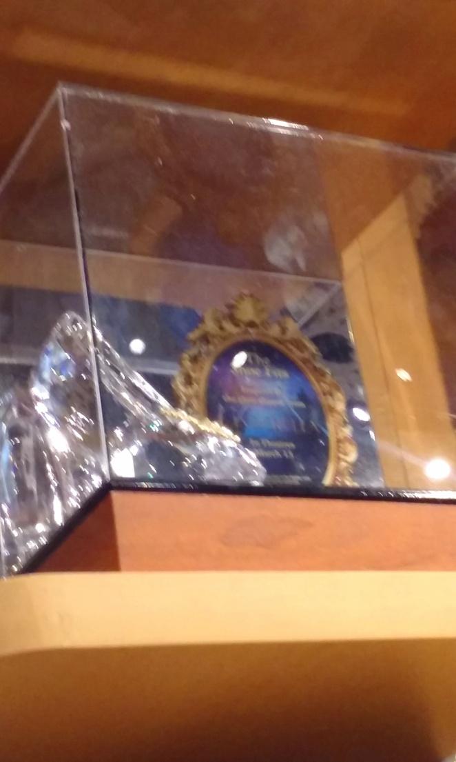 Cinderella shoe Disney Store Time Square