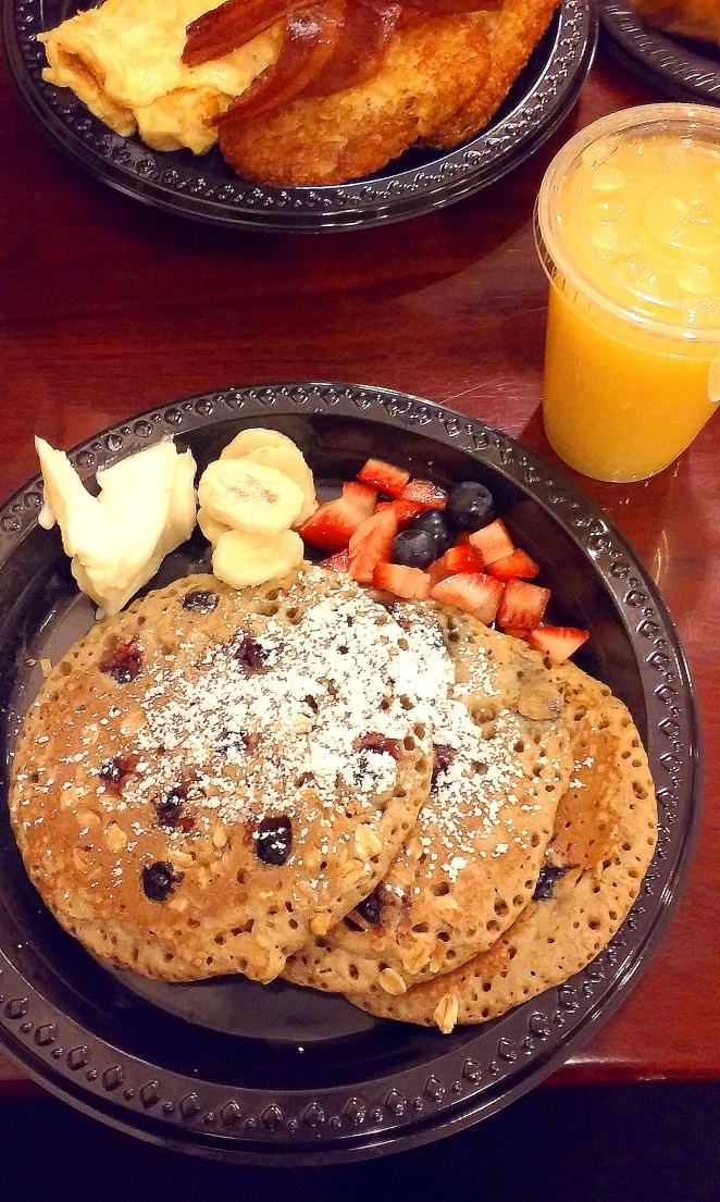 healthy pancakes in New York