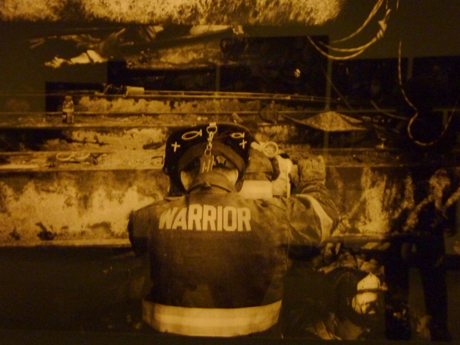 One World Trade Center 9/11 Memorial fireifghter