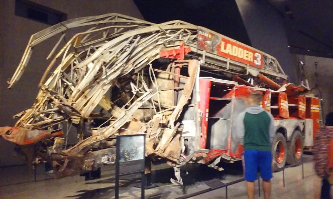One World Trade Center 9/11 Memorial firefighter