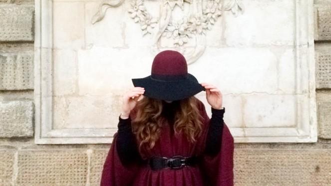 cape trend hat capeline bicolor