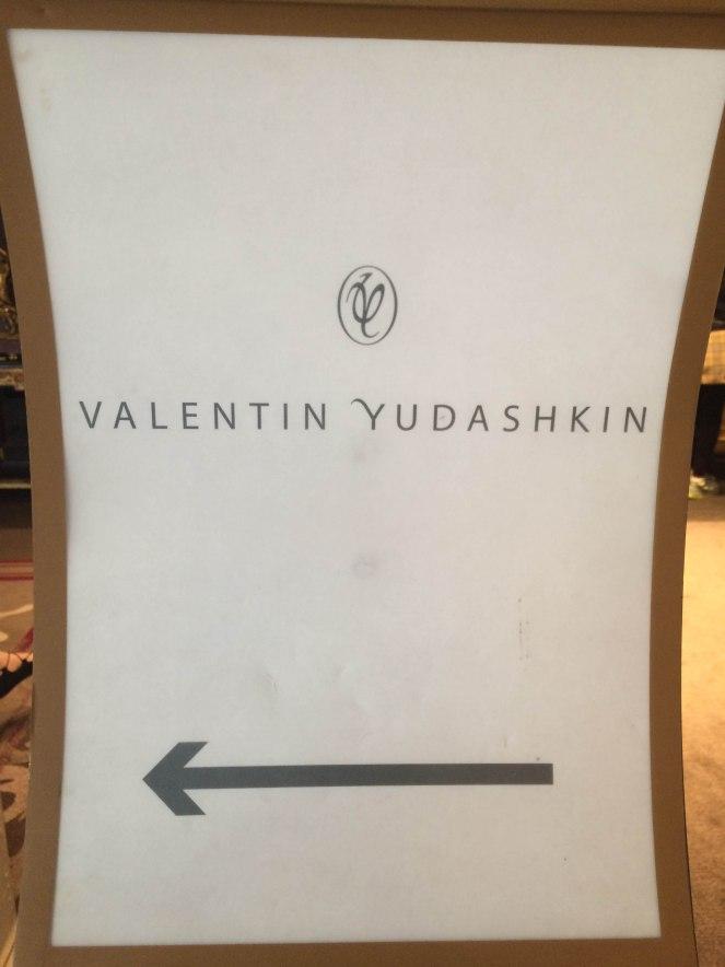 défilé Valentin Yudashkin
