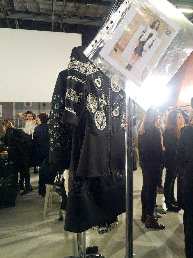 Rahul Mishra fashion week  backstage automne hiver 2016