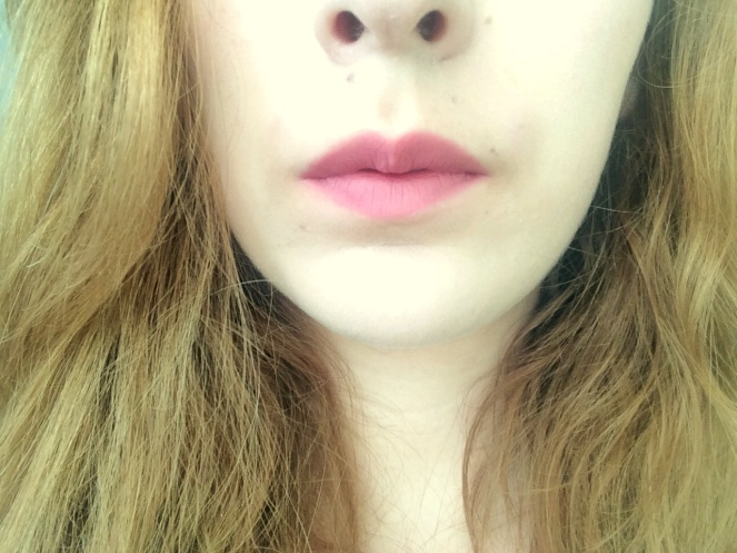 Nyx matte lipstick rose