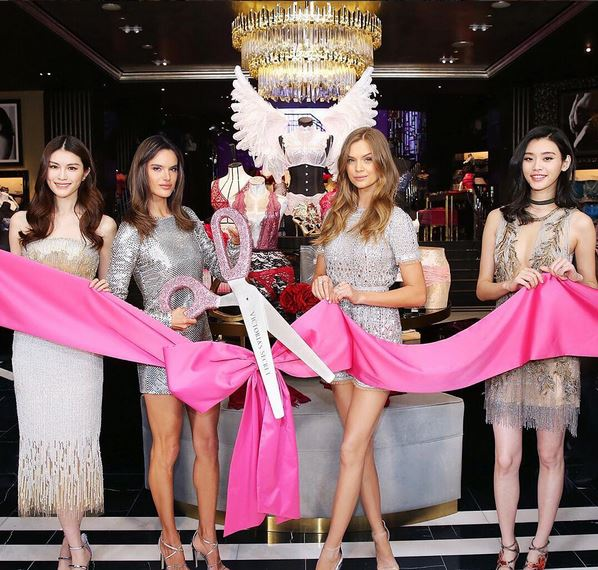 Victoria's secret new opening in Shanghai